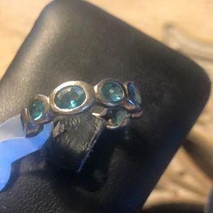 Silpada Aqua Stone Ring